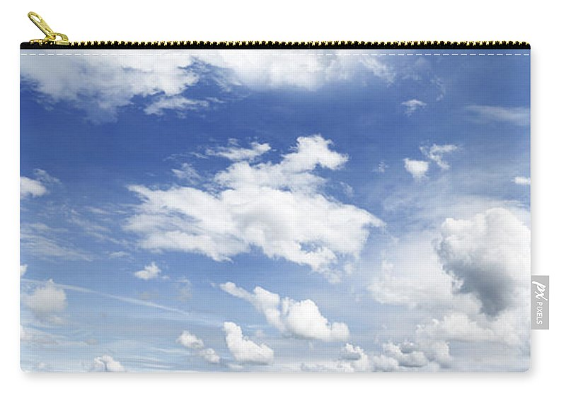 Nature Carry-all Pouch featuring the photograph Big Blue Sky by Les Cunliffe