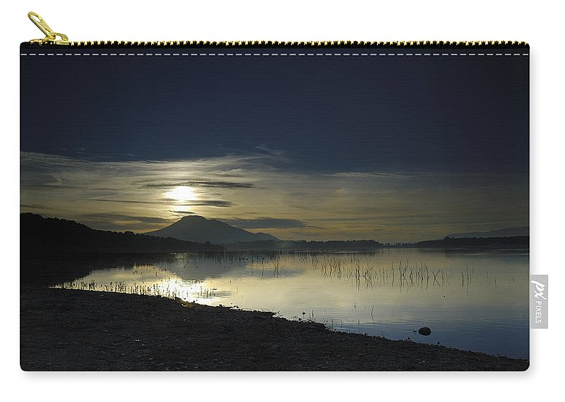 Carry-all Pouch featuring the photograph Calm Sunset by Guido Montanes Castillo