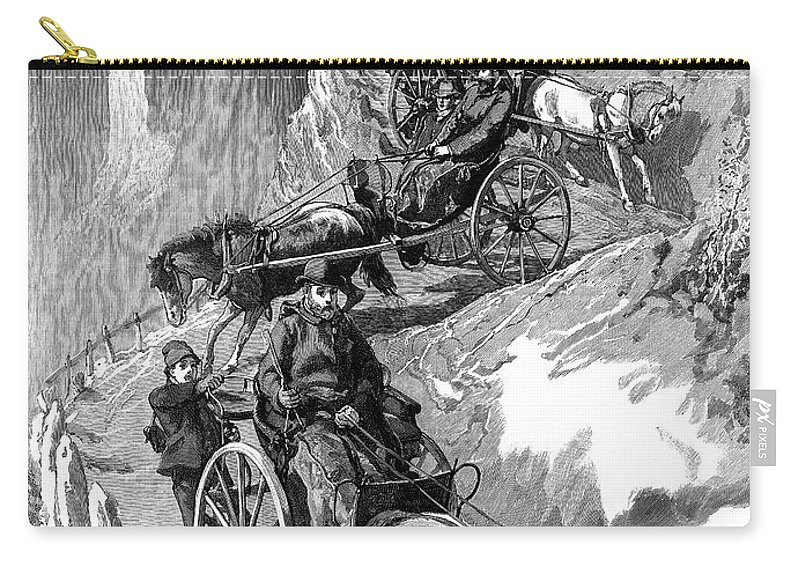 1885 Carry-all Pouch featuring the painting Edward Vii (1841-1910) by Granger