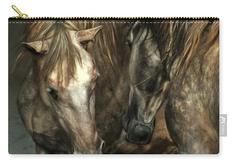 Horse Carry-all Pouch featuring the photograph Flamenco by Angel Tarantella