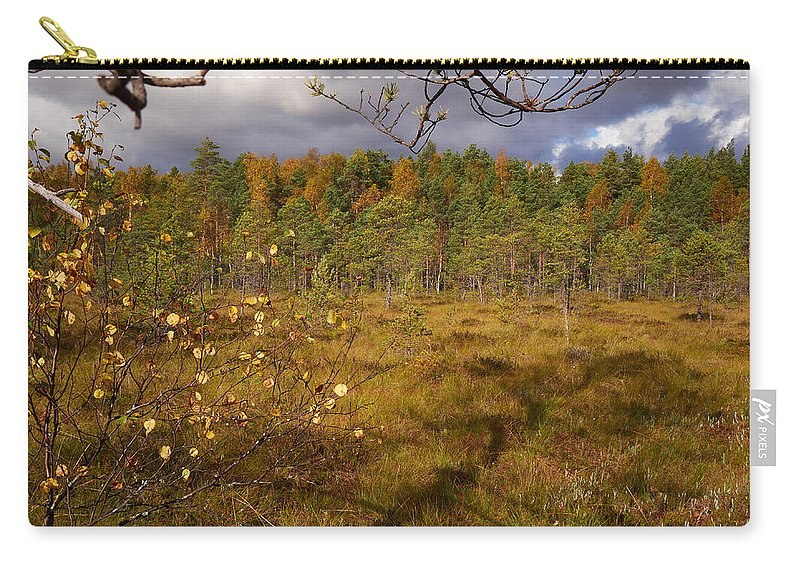 Finland Carry-all Pouch featuring the photograph Isosuo by Kukka Lehto