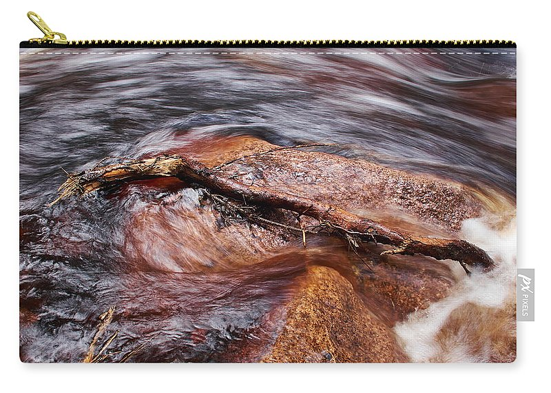 Finland Carry-all Pouch featuring the photograph Liesijoki by Jouko Lehto