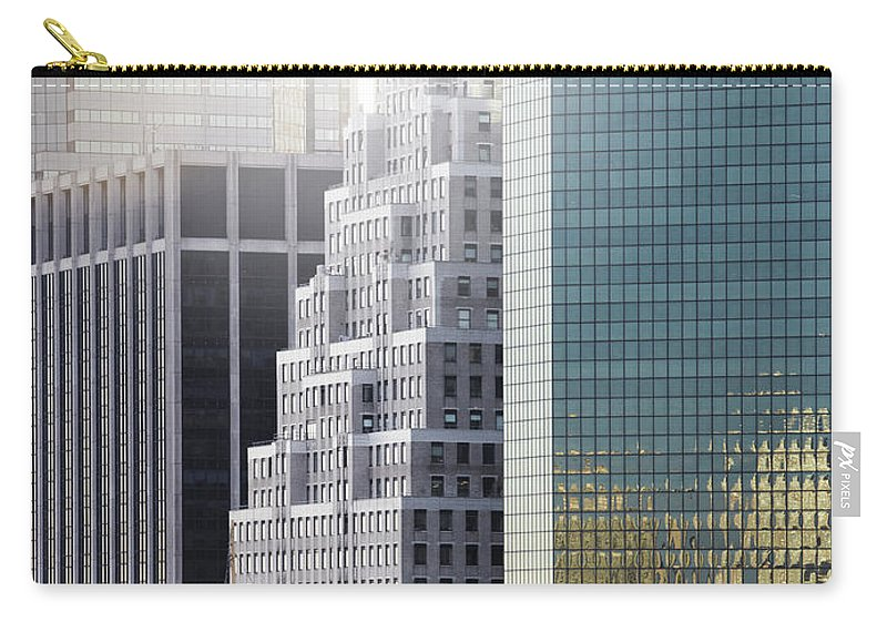 Tranquility Carry-all Pouch featuring the photograph New York by Henrik Sorensen