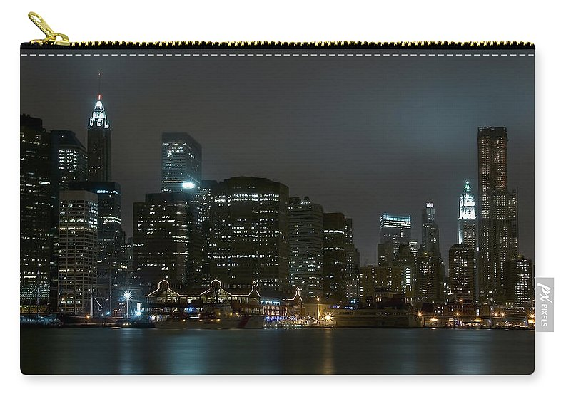 America Carry-all Pouch featuring the photograph NYC by Svetlana Sewell