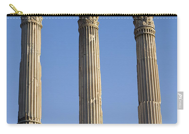Travel Carry-all Pouch featuring the photograph The Roman Forum by Jason O Watson
