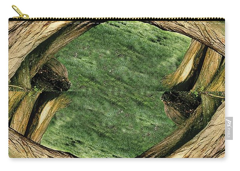 Digital Photography Carry-all Pouch featuring the photograph Unnatural 37 5 by Giovanni Cafagna