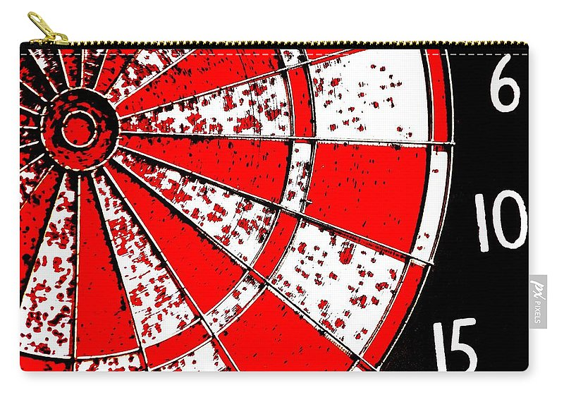 Darts Carry-all Pouch featuring the photograph 6 10 15 by Benjamin Yeager
