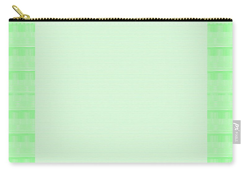Border Carry-all Pouch featuring the painting Border Frames Square Buy Any Faa Produt Or Download For Self-printing Navin Joshi Rights Managed Im by Navin Joshi