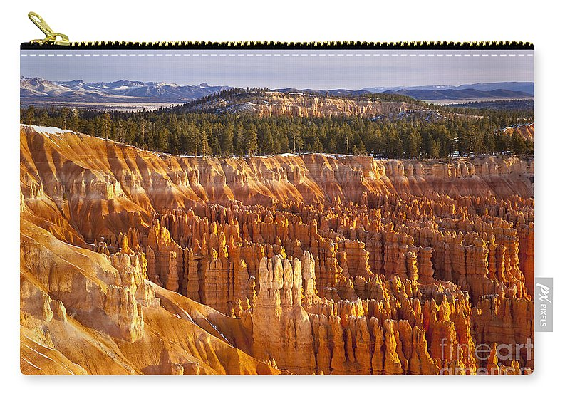 America Carry-all Pouch featuring the photograph Bryce Canyon by Brian Jannsen