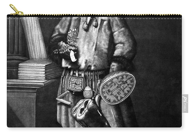 18th Century Carry-all Pouch featuring the photograph Carolus Linnaeus (1707-1778) by Granger