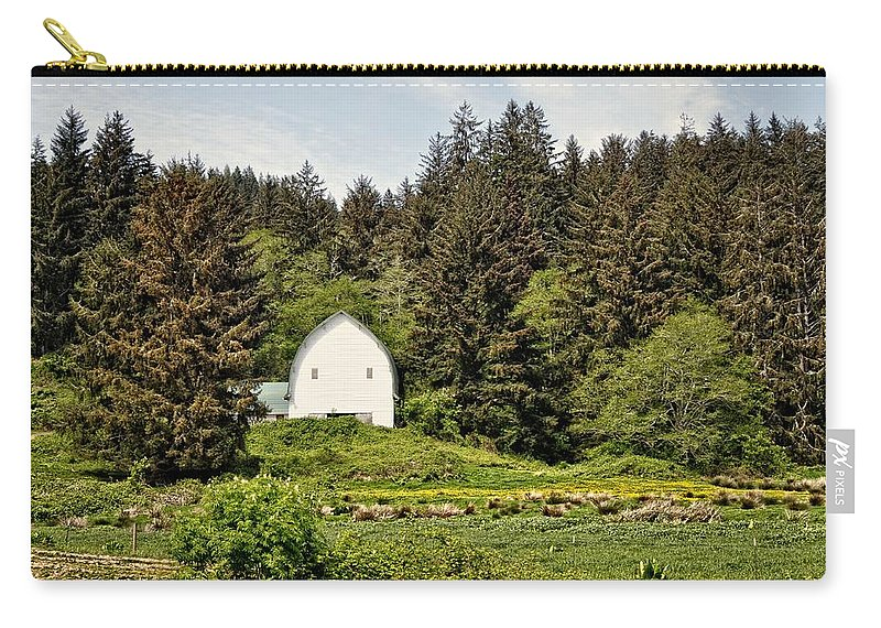 Barn Carry-all Pouch featuring the photograph Hood River by Image Takers Photography LLC