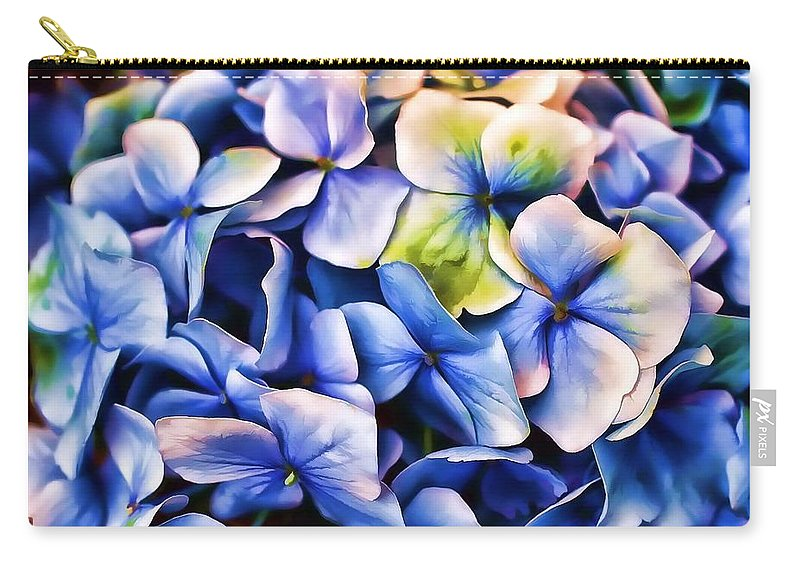 Hydrangea Carry-all Pouch featuring the photograph Hydrangea by Joyce Baldassarre