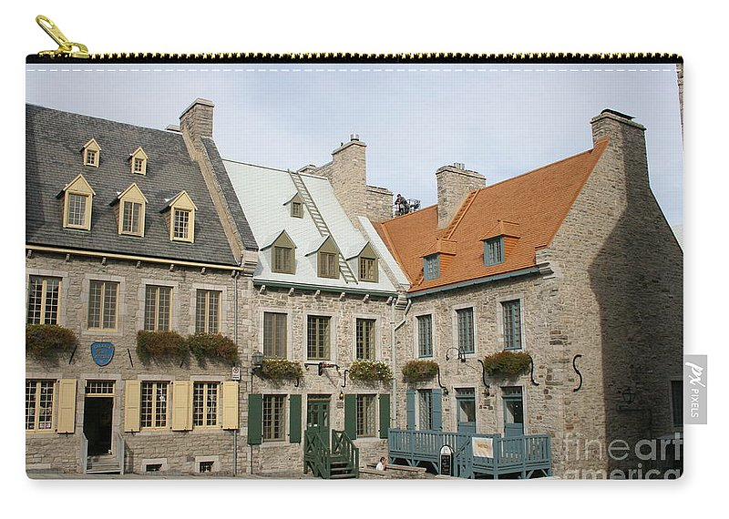 Old Town Carry-all Pouch featuring the photograph Old Town Quebec - Canada by Christiane Schulze Art And Photography