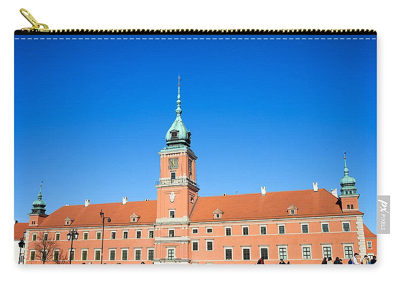 Architecture Carry-all Pouch featuring the photograph Royal Castle In Warsaw by Artur Bogacki