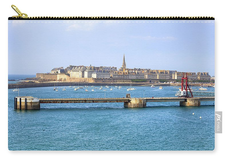 City Carry-all Pouch featuring the photograph Saint-malo - Brittany by Joana Kruse