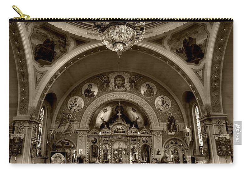 Mn Church Carry-all Pouch featuring the photograph Saint Marys Orthodox Cathedral by Amanda Stadther