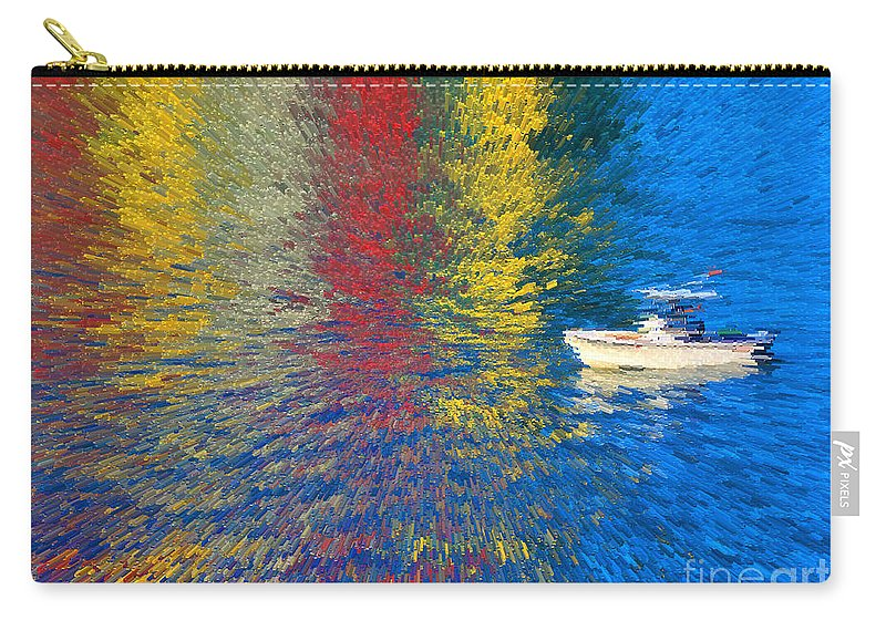 Carry-all Pouch featuring the photograph 60- Fourth Of July by Joseph Keane