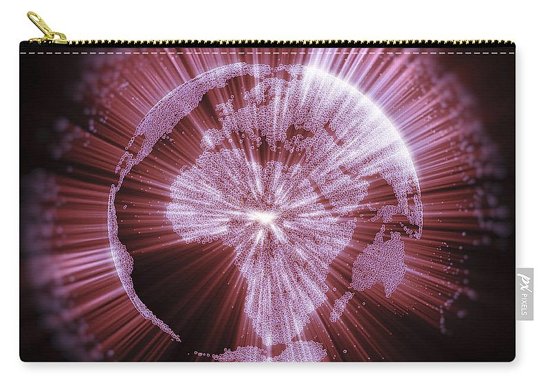 Energy Carry-all Pouch featuring the photograph Earths Energy by Science Picture Co
