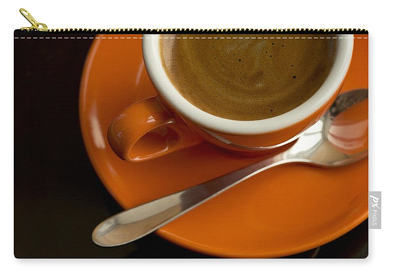 Coffee Carry-all Pouch featuring the photograph Espresso by Chevy Fleet