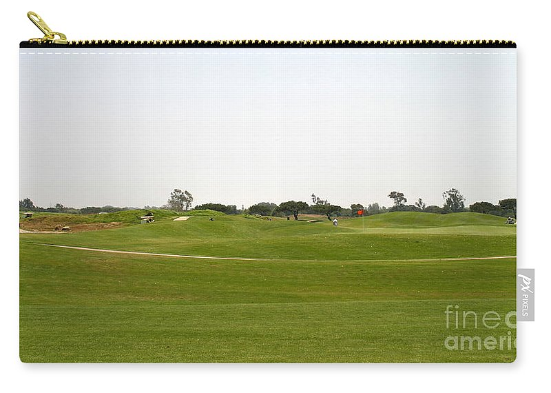 Beautiful Carry-all Pouch featuring the photograph Golf by Henrik Lehnerer