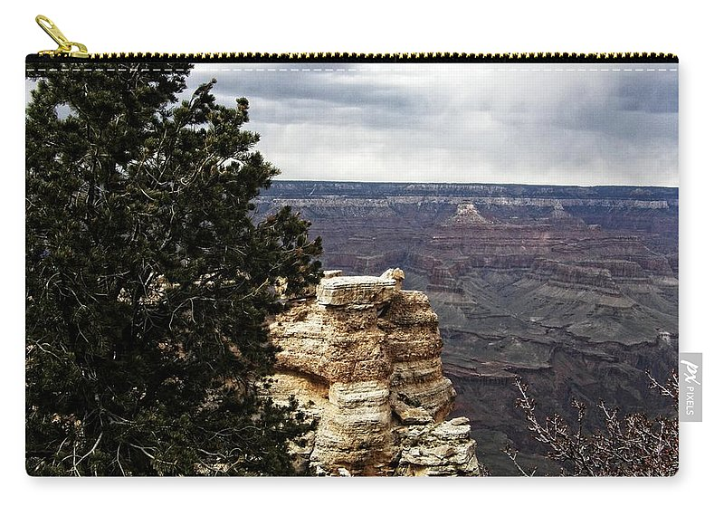 Carry-all Pouch featuring the photograph Grand Canyon by Image Takers Photography LLC
