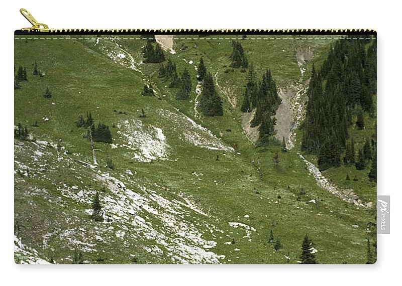 Americas Carry-all Pouch featuring the photograph Kindersley Pass by Roderick Bley