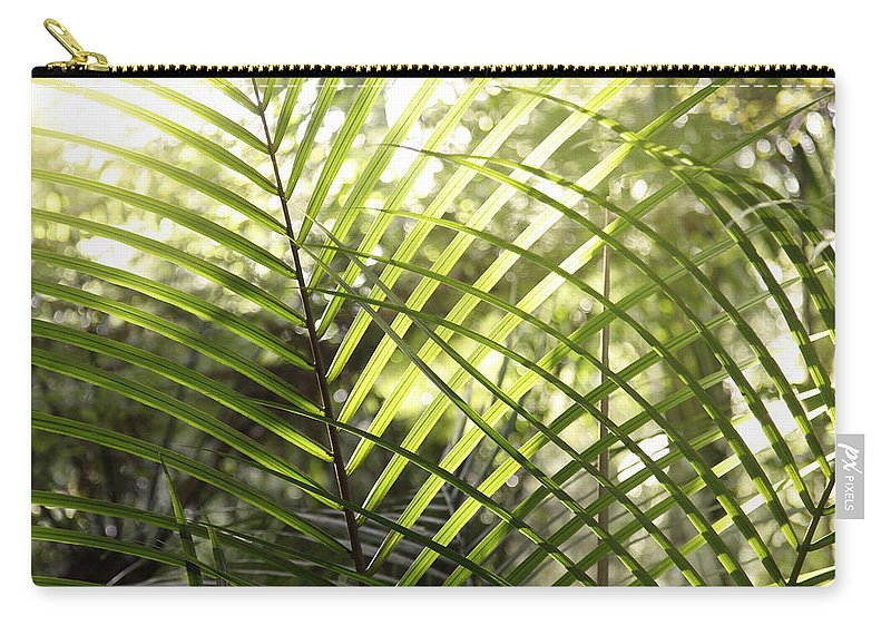 Outdoor Carry-all Pouch featuring the photograph Leaves by Les Cunliffe