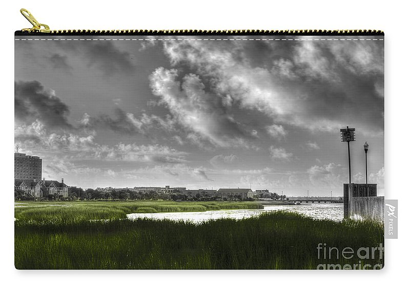 Lowcountry Carry-all Pouch featuring the photograph Southern Tall Marsh Grass by Dale Powell