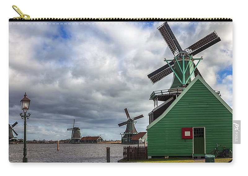 Zaanse Schans Carry-all Pouch featuring the photograph Zaanse Schans by Joana Kruse