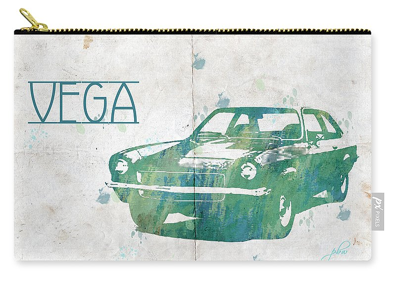 Feature Art Carry-all Pouch featuring the digital art 71 Vega by Paulette B Wright
