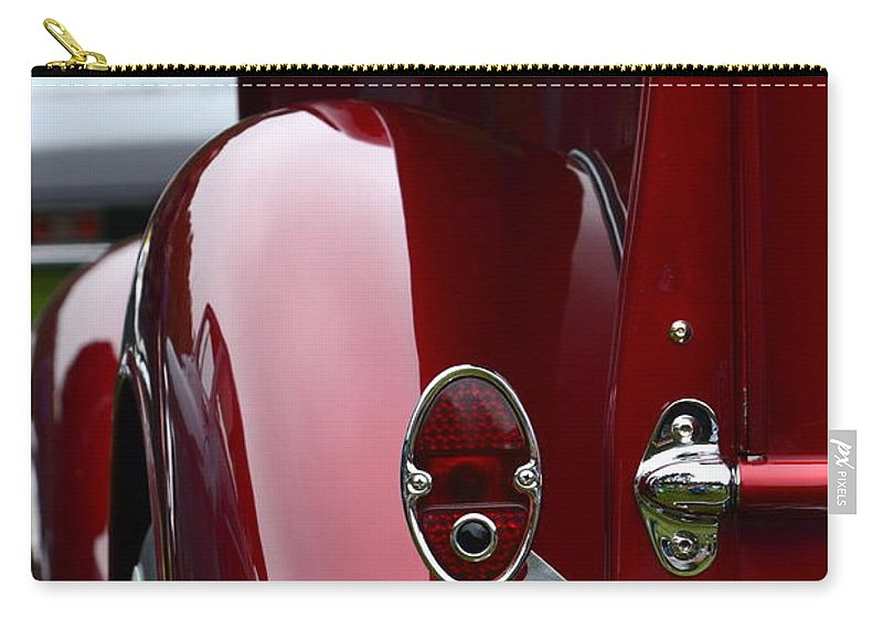 Classic Carry-all Pouch featuring the photograph Classic Chevy Pickup by Dean Ferreira