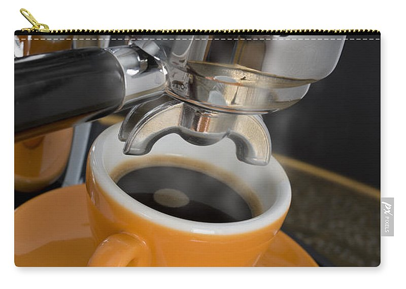 Machine Carry-all Pouch featuring the photograph Espresso by Chevy Fleet