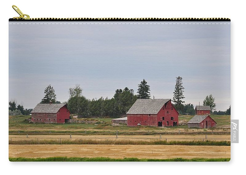 Barn Carry-all Pouch featuring the photograph Idaho Falls by Image Takers Photography LLC