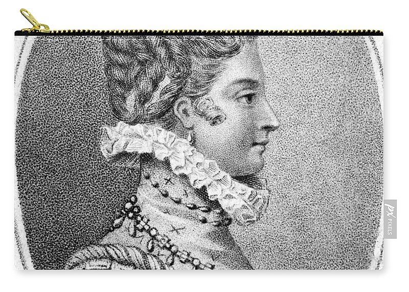 1553 Carry-all Pouch featuring the painting Lady Jane Grey (1537-1554) by Granger