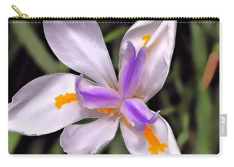 Flower Carry-all Pouch featuring the photograph Orchid by Joyce Baldassarre