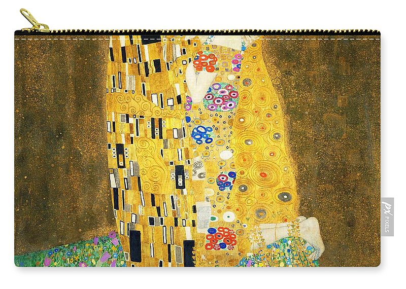 The Kiss Carry All Pouch For Sale By Gustav Klimt