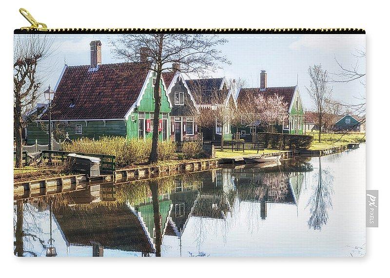 Zaanse Schans Carry-all Pouch featuring the photograph Zaanse Schans by Joana Kruse