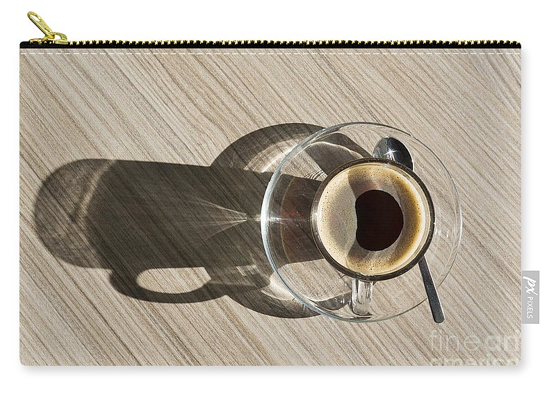 Coffee Carry-all Pouch featuring the photograph Cup Of Coffee by Mats Silvan