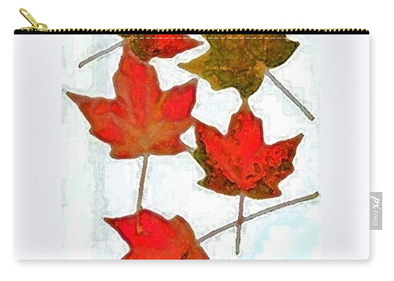 Autumn Carry-all Pouch featuring the photograph 9.3 by T Byron K