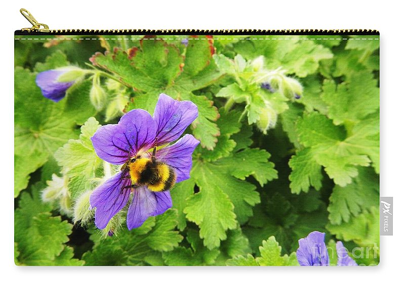 Floral Carry-all Pouch featuring the photograph A Big Hug by Loreta Mickiene