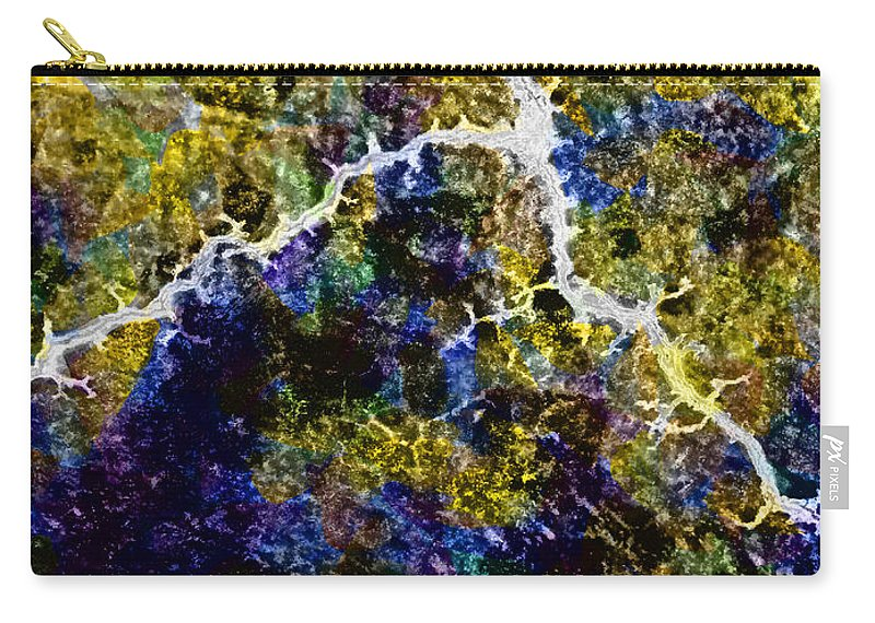 Earthquake Carry-all Pouch featuring the digital art A Builder's Crack by Steve Taylor
