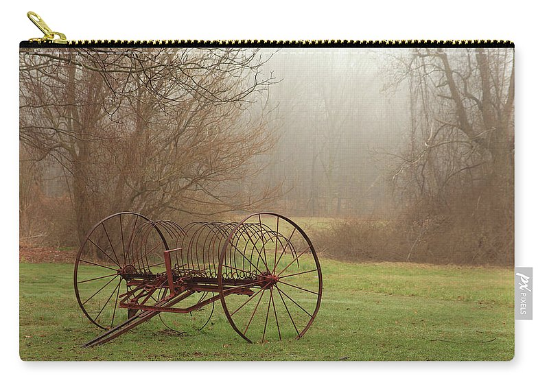 Country Carry-all Pouch featuring the photograph A Country Scene by Karol Livote
