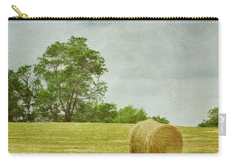 Agricultural Carry-all Pouch featuring the photograph A Day At The Farm by Kim Hojnacki