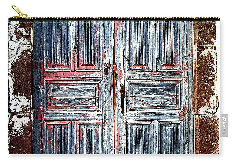 Door Carry-all Pouch featuring the photograph A Door Seldom Open by Floyd Menezes