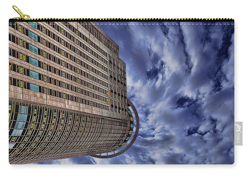 911 Carry-all Pouch featuring the photograph A Drifting Skyscraper by New York