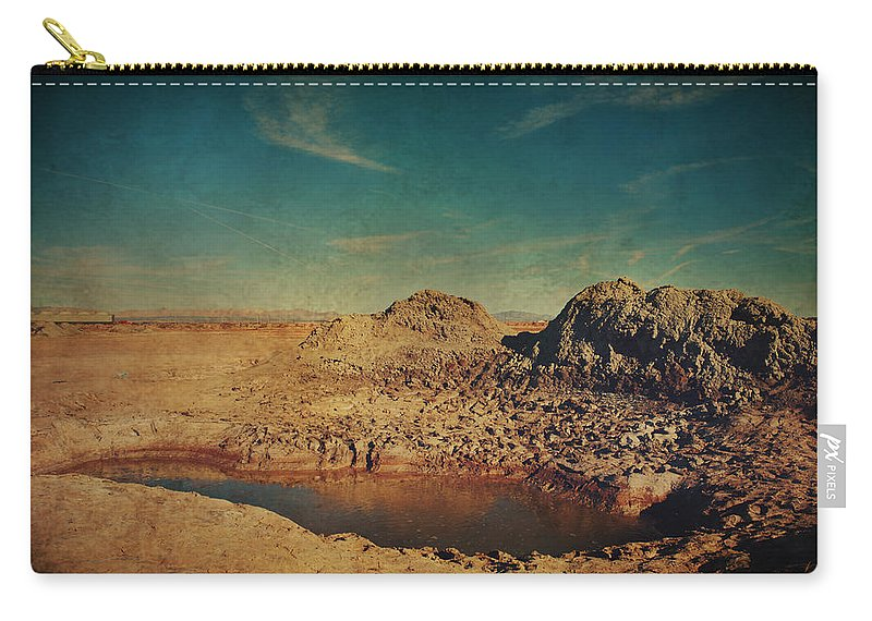 Mud Pots Carry-all Pouch featuring the photograph A Far Off Place by Laurie Search