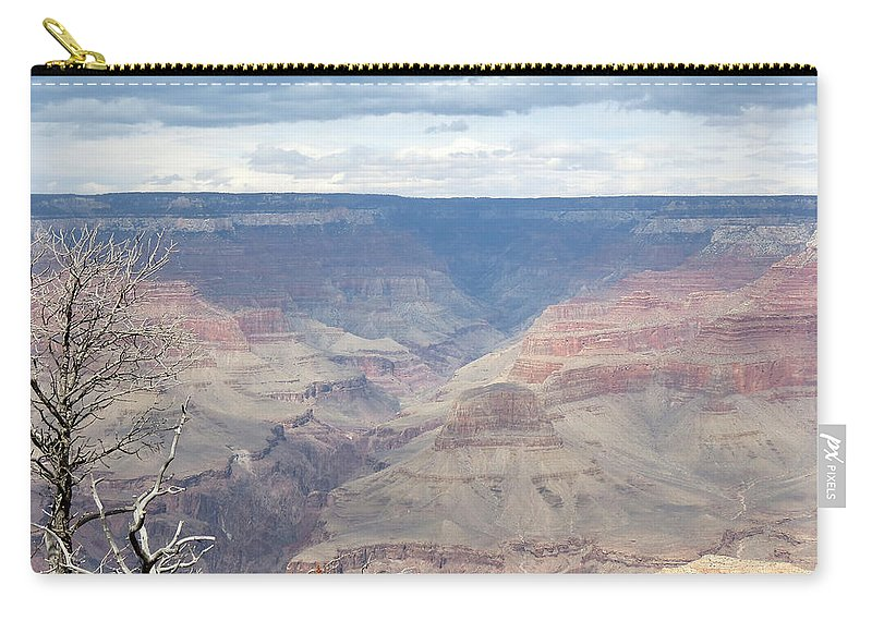 Grand Canyon Carry-all Pouch featuring the photograph A Grand Canyon by Laurel Powell