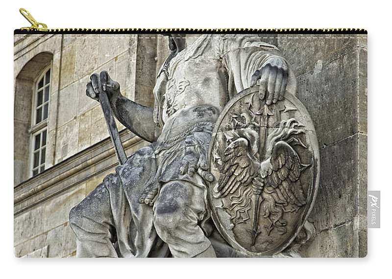 Army Museum Of France Carry-all Pouch featuring the photograph A Guardian Close-up - 1 by Hany J