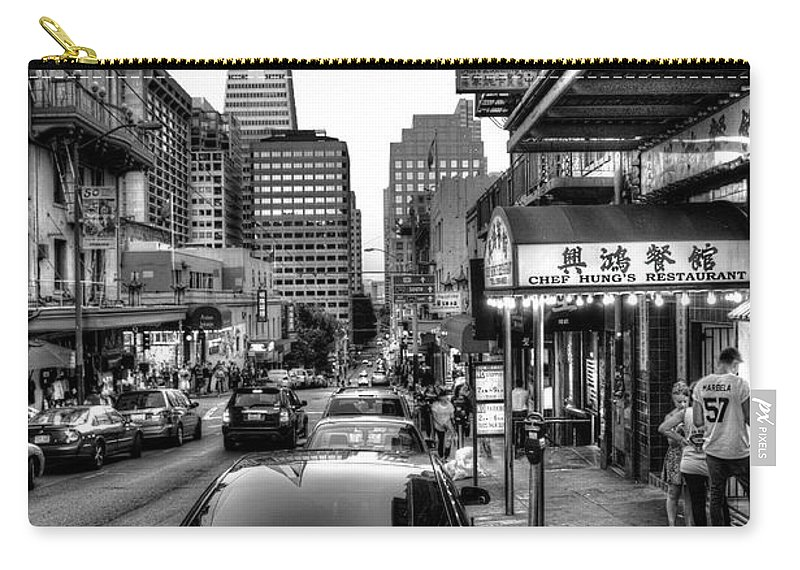 China Town Carry-all Pouch featuring the photograph A Little Taste Of China by Wim Slootweg