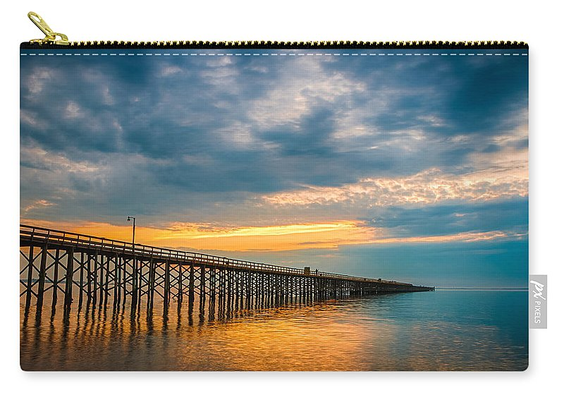 New Jersey Carry-all Pouch featuring the photograph A Long Way Out by Kristopher Schoenleber